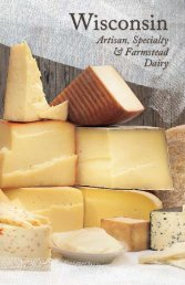 Download the Wisconsin Artisan And Farmstead Dairy ... - WMMB