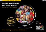 Visitor Brochure - World Travel Market