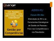 Técnicas - ABRH-RJ