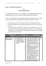 Anlage 3 - Vergütung und Abrechnung § 1 HzV ...