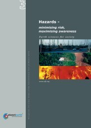 Hazards - - International Year of Planet Earth