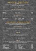A La Carte Menu - Mr Singh Alloa - Page 5