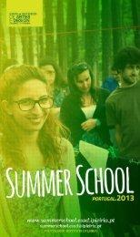 ESAD.CR Summer School 2013 Booklet