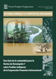 los pueblos indígenas y los proyectos del banco mundial