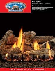 Gas Log Sets Vented/Vent-Free Burners Vented ... - Mrohsgas.com