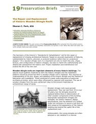 The Repair and Replacement of Historic Wooden Shingle Roofs