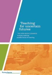 Teaching for uncertain futures - Neville Freeman Agency