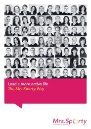 Mrs.Sporty Corporate Brochure