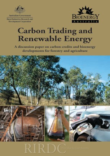 Carbon Trading and Renewable Energy - Department of Climate ...
