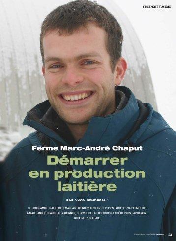 Démarrer en production laitière - Fédération des producteurs de lait ...