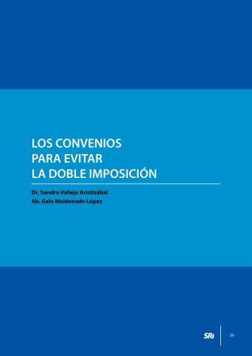 Los convenios para evitar la doble imposición - Centro de Estudios ...