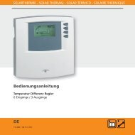 Bedienungsanleitung DE - Mare Solar