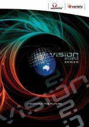 Why Vision 2020? - Australian Innovation