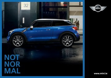 Mini Pricelist – 1 July 2013 - Motorshow