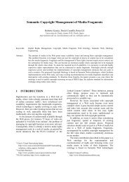 Semantic Copyright Management of Media Fragments - Rhizomik