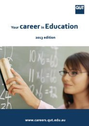 Education (PDF 17MB) - QUT Careers and Employment