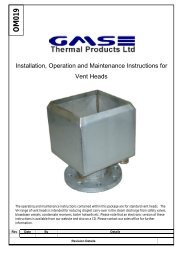 Download O&M Manual - GMS Thermal Products
