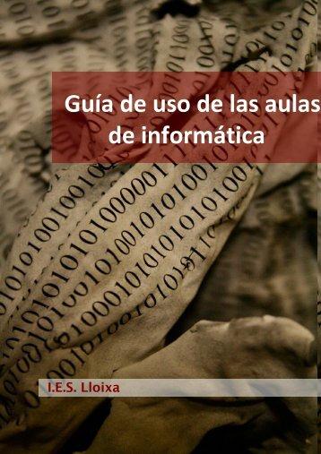 Uso de las Aulas Informáticas - Web