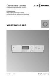 Vitotronic 200, KW4 és KW5 típus838 KB - Viessmann