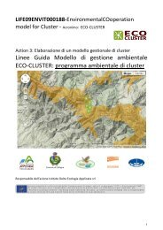 Linee Guida Modello di gestione ambientale ECO-Cluster - Parco ...