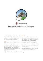 Praxisheft Photoshop - Lösungen - Philip Fuchslocher Portfolio