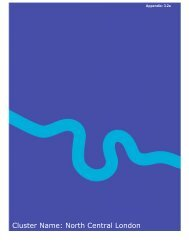 Cluster Name: North Central London - Health Service Journal