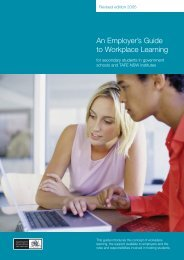 An Employer's Guide to Workplace Learning - Career Links