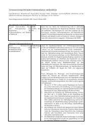 Literaturauswertung Schwerpunkt Telekommunikations- und ...