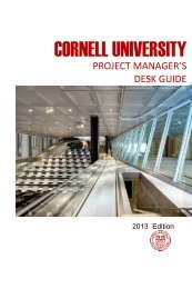 Project Manager's Desk Guide - Capital Projects and Planning