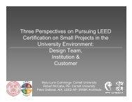 Power Point Presentation (pdf) - Cornell University