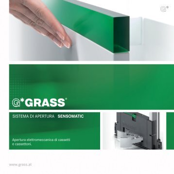 SISTEMA DI APERTURA SENSOMATIC - Grass