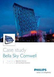 Bella Sky Comwell Hotel - Philips Lighting Poland