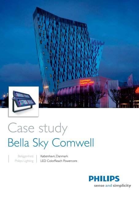 Bella Sky Comwell Hotel - Philips Lighting Poland