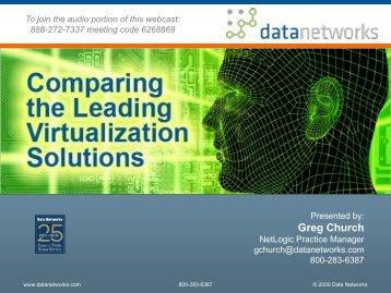 Greg Church - Data Networks