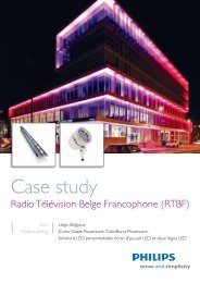 RTBF - Philips Lighting Poland