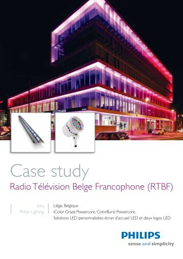 RTBF - Philips Lighting Poland