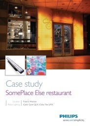 Case study SomePlace Else - Philips Lighting Poland