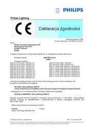 MASTERColour CDM-T, CDM-TMW - Philips Lighting Poland