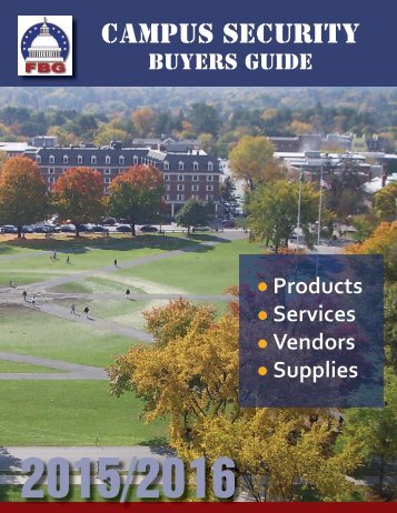Campus Security Buyers Guide