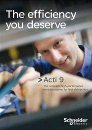 Brochure Acti 9 - Schneider Electric