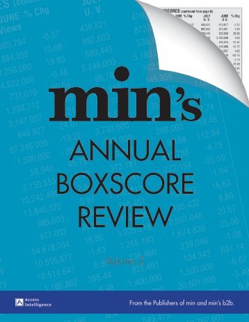 AnnualBoxScoreReview.. - Order Newsletter page
