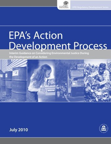 Interim Guidance on Considering Environmental Justice During the ...