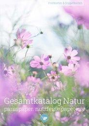 Gesamtkatalog Natur