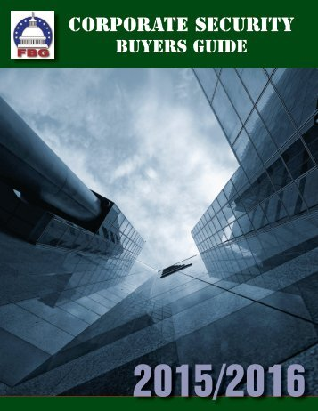 Corporate Security Buyers Guide