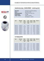 Kabelforskruninger - WebKontrol V.5 | Bakuri A/S
