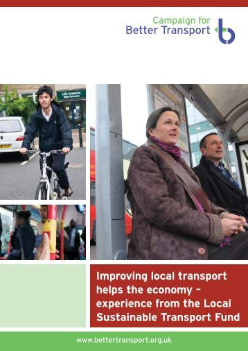 Improving local transport helps the economy - experience from the LSTF