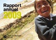 Rapport annuel - Terre des Hommes Suisse