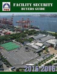 Facility Security Buyers Guide