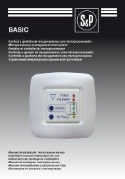 Control y gestión de recuperadores con microprocessador ...