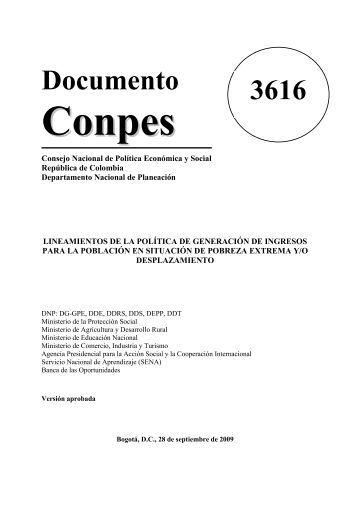 Conocer este Documento - Ministerio de Agricultura y Desarrollo Rural
